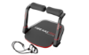 Picture of CORE MAX PRO WITH RESISTANCE BANDS ABS AND TOTAL BODY SMART 8 MIN WORKOUT & CARDIO MACHINE, RED/BLACK