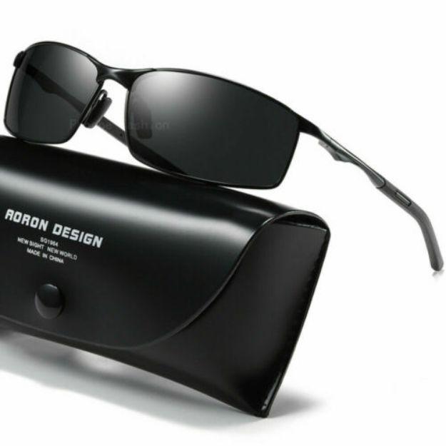 Picture of Hd De Alumínio Polarizado Óculos De Sol fotocrómico masculino para direção Camaleão Óculos De Sol