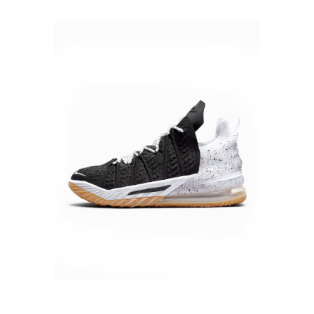 """Picture of Basketball Shoe LeBron 18 """"Black/White"""""""