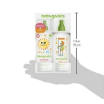 Picture of BABYGANICS SPF 50 BABY SUNSCREEN SPRAY UVA UVB PROTECETION AND DEET FREE BUG REPELLENT, 2 PACK ( 6 OZ)