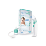Picture of OCCOBABY BABY NASAL ASPIRADOR -SAFE HYGIENIC AND QUICK BATTERY OPERATED NOSE CLEANER WITH 3 SIZE OF NOSE TIPS INCLUDES BONUS MANUAL SNOT SUCKER FOR NEWBORNS AND TODDLERS (LIMITED EDITION)
