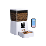 Picture of WOPET AUTOMATIC CAT FEEDER, 7L WIFI ENABLED SMART FOOD DISPENSER FOR CATS DOGS, APP REMOTE CONTROL AND UP TO 8 MEALS PER DAY 10S VOICE
